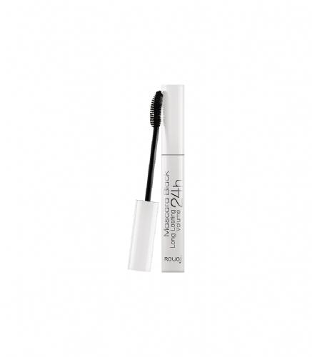 Mascara pestañas larga duracion 24h - rougj dermocosmetiques (negra)
