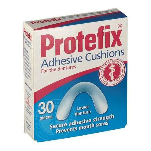 Protefix almohadillas adhesivas protesis (30 u inferior)