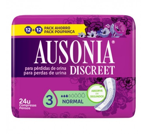 Absorb inc orina muy ligera - ausonia discreet (normal 24 u)