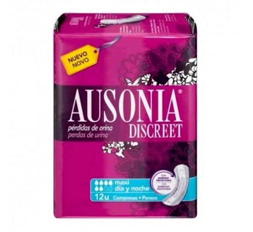 Ausonia discreet maxi day & night (maxi 12 u)