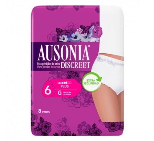 Absorb inc orina muy ligera - ausonia discreet (pants g 8 u)