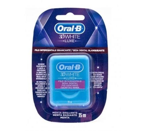 Oral b seda dental 3d (white 25 metros)