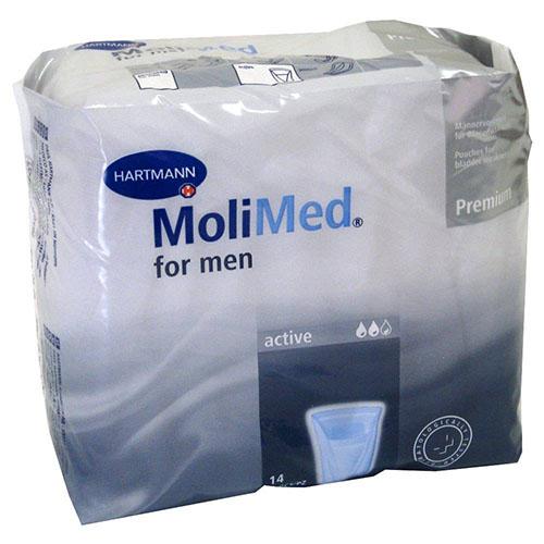 Absorb inc orina ligera - molicare premium men pad (2 gotas 24 u)