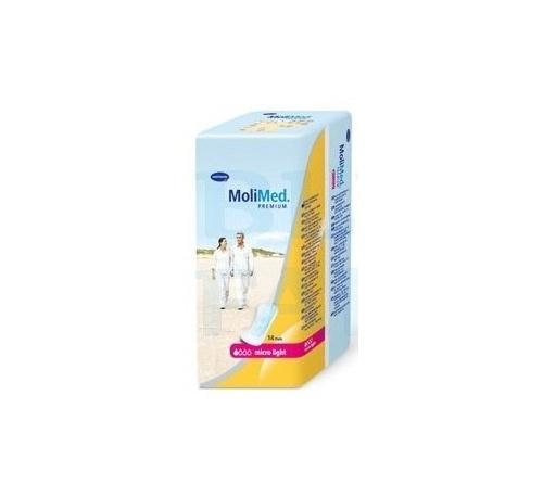 Absorb inc orina ligera - molicare premium lady pad (1 gotas 14 u)