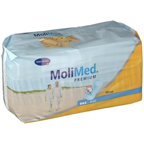 Absorb inc orina ligera - molicare premium lady pad (3 gotas 14 u)