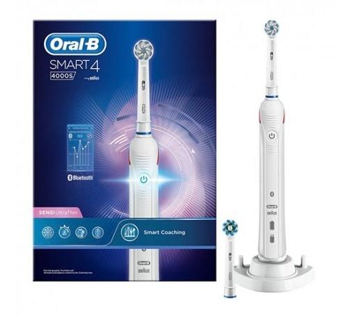 Cepillo dental electrico recargable - oral-b 4000s smart 4