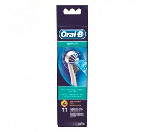 Oxyjet care center irrigador bucal electrico - oral b professional (4u recambio cabezal)