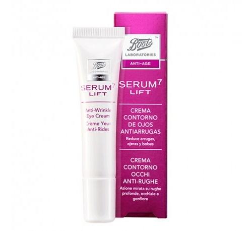 Boots laboratories serum7 lift - contorno de ojos antiarrugas (1 envase 15 ml)