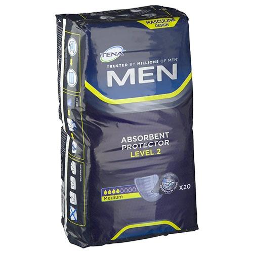 Absorb inc orina ligera - tena men (level-2  20 u)