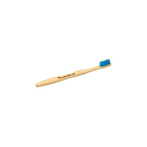 Cepillo dental bambu azul medium