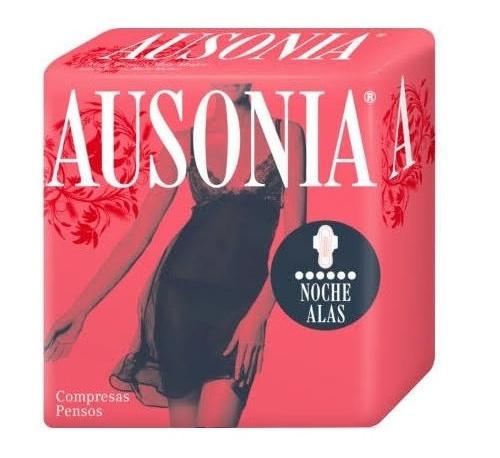 Compresas higienicas femeninas - ausonia (noche superplus 10 u)