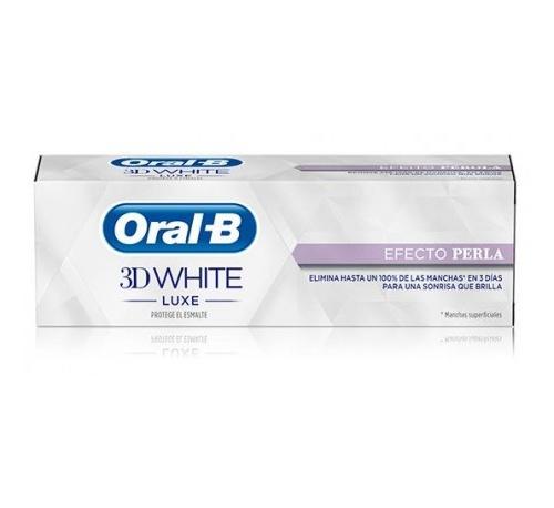 Oral-b 3dwhite luxe efecto perla (75 ml)
