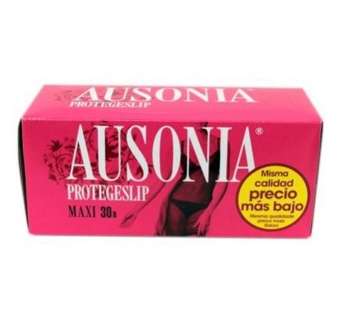 Protectores ausonia - protege slip (maxi 30 u)