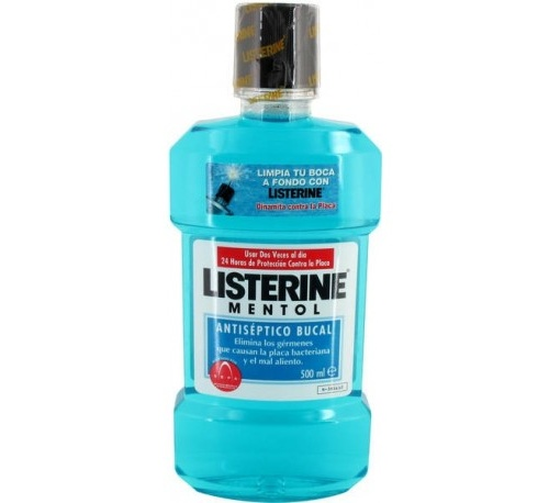 Listerine (mentol 500 ml)