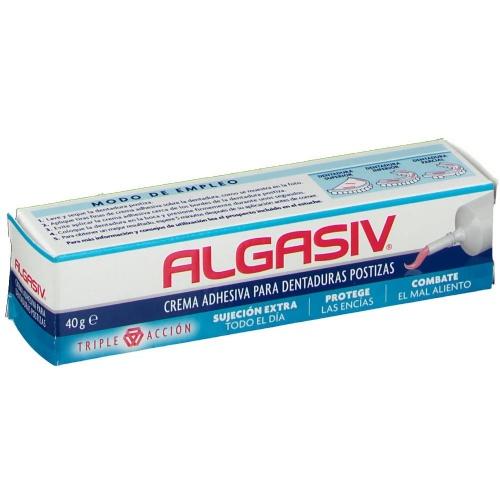 Algasiv crema adhesiva dentadura postiza (40 g)