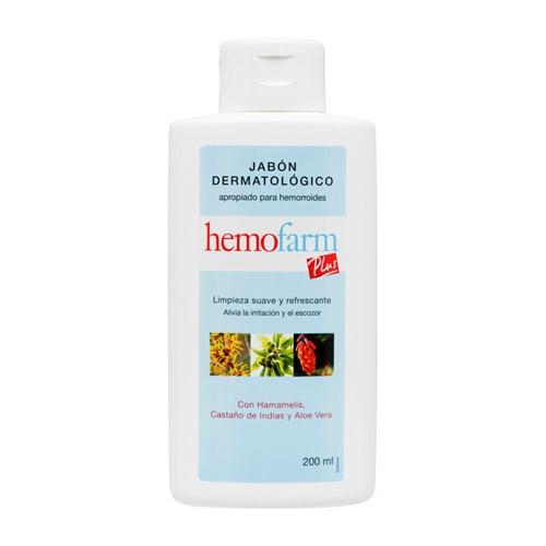 Hemofarm plus jabon (200 ml)