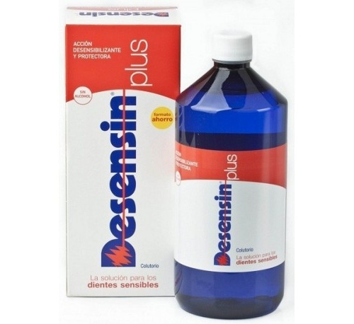 Desensin plus colutorio dental (1 envase 1000 ml)