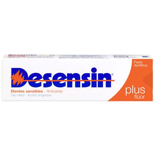 Desensin plus fluor pasta dentifrica (125 ml)