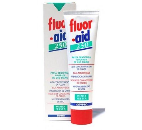 Fluor aid 250 pasta dental (1 envase 100 ml)