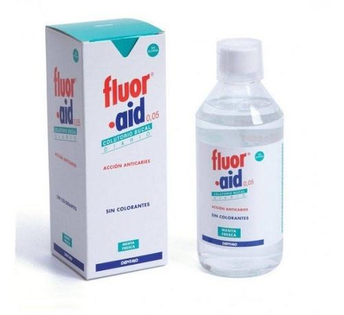 Fluor aid 0,05 col (1 envase 500 ml)