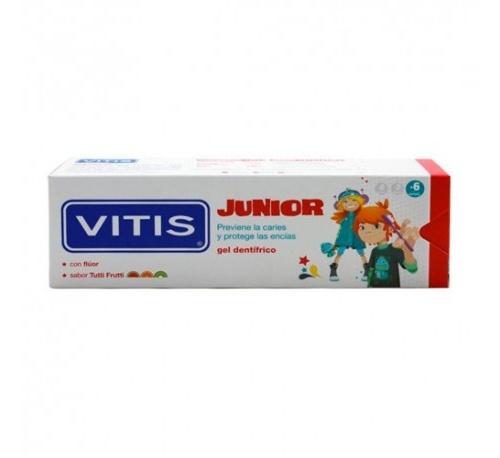 Vitis junior gel dentifrico (1 envase 75 ml)