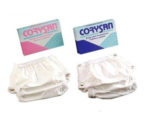 Braga incontinencia - corysan (cierre clip t- 8)