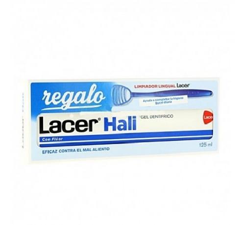 Lacer hali gel dentifrico (1 envase 125 ml)