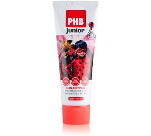 Phb junior pasta dental (1 envase 75 ml sabor fresa)