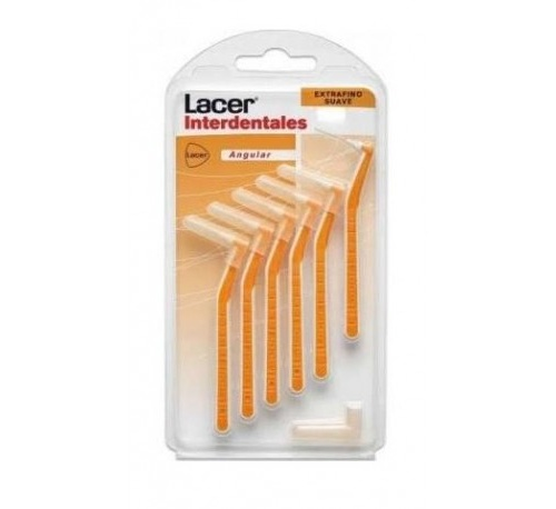Cepillo interdental - lacer (extrafino suave angular)