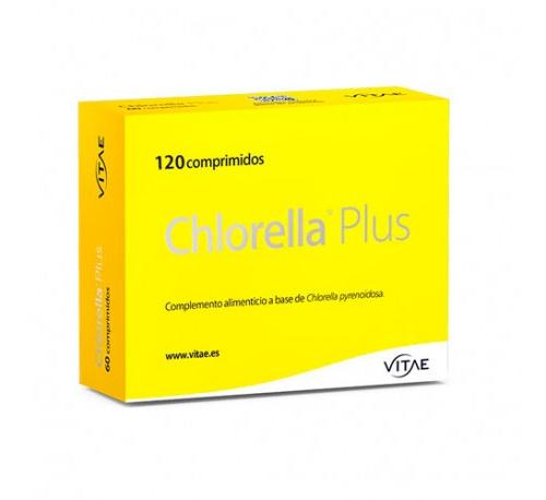 Chlorella plus (120 comprimidos) + REGALO OlioVita Balm de 10 ml