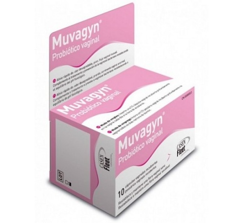 Muvagyn probiotico capsula vaginal (10 capsulas vaginales)