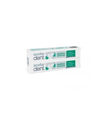 Acofardent dentifrico anticaries (75 ml 2 u)