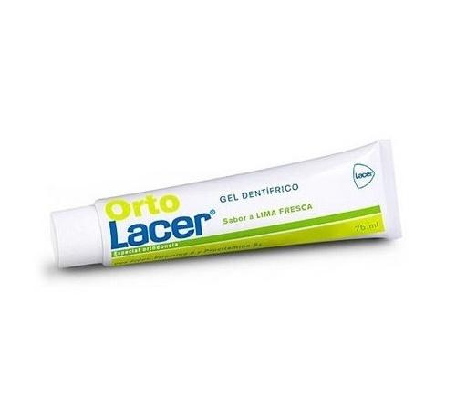 Ortolacer gel dentifrico (75 ml lima fresca)