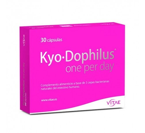 Kyo-dophilus one per day (30 capsulas) + REGALO After sun 100ml