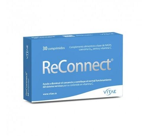 Reconnect (30 comprimidos) Vitae + REGALO OlioVita Balm de 10 ml