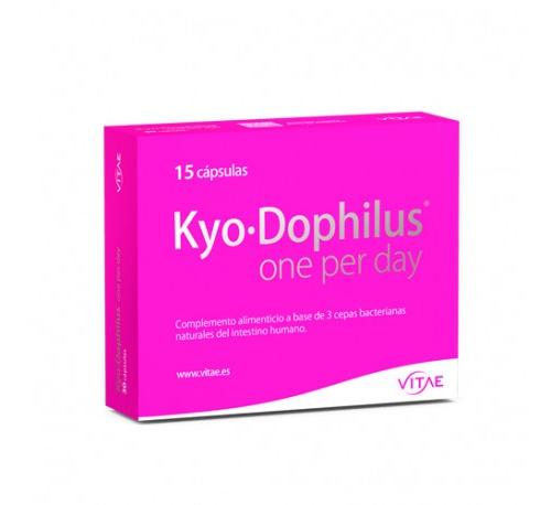 Kyo-dophilus one per day (15 capsulas) + REGALO After sun 100ml