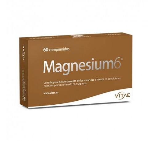 Magnesium 6 (60 comprimidos) Vitae + REGALO OlioVita Balm de 10 ml