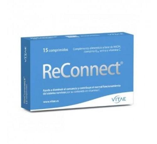 Reconnect (15 comprimidos) Vitae + REGALO OlioVita Balm de 10 ml