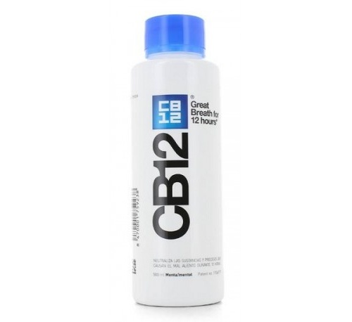 Cb12 enjuague cuidado bucal (1 envase 500 ml)