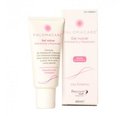 Palomacare gel vulvar hidratante y reparador (1 envase 30 ml)