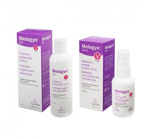 Melagyn duo - proteccion intima (1 spray 50 ml + gel 1 envase 200 ml)