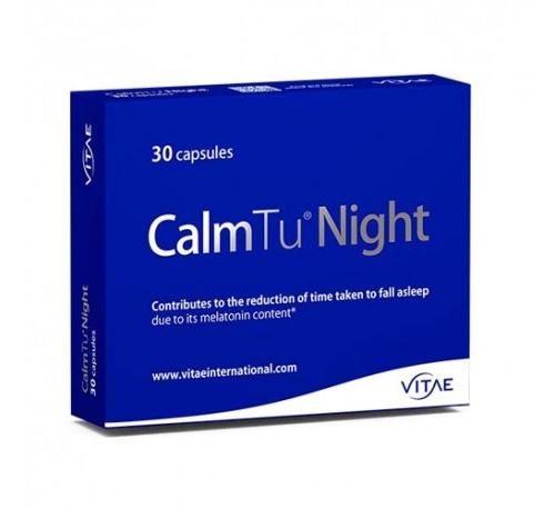 Calmtu night (30 capsulas) + REGALO OlioVita Balm de 10 ml