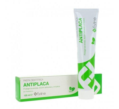 Farline dentifrico antiplaca (1 tubo 125 ml sabor menta)