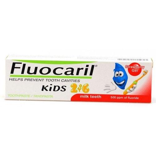Fluocaril kids 0-6 años (1 envase 50 ml sabor fresa)