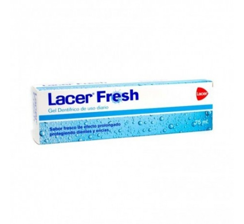 Lacer fresh frescor prolongado gel dentifrico (1 tubo 75 ml)