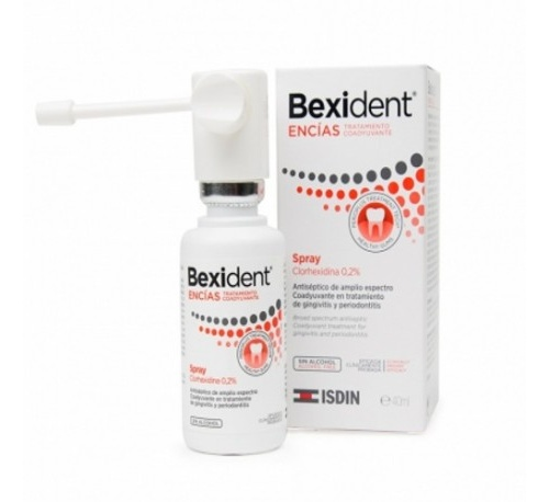Bexident encias spray clorhexidina 0,2% - tratamiento coadyuvante (40 ml)