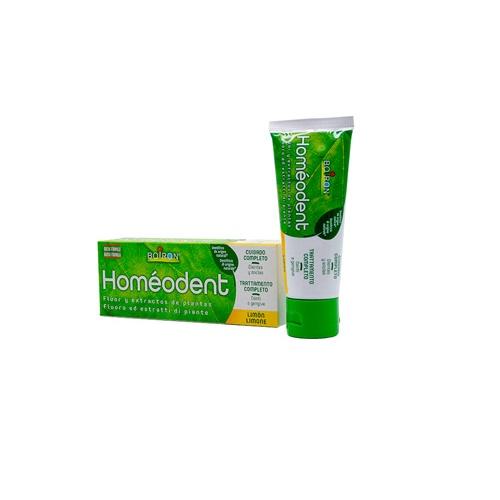 Homeodent cuidado completo dientes y encias (1 tubo 75 ml sabor limon)