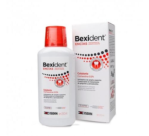 Bexident encias tratamiento coadyuvante - clorhexidina 0,12% (colutorio 250 ml)