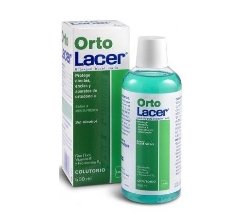 Ortolacer colutorio (menta 500 ml)