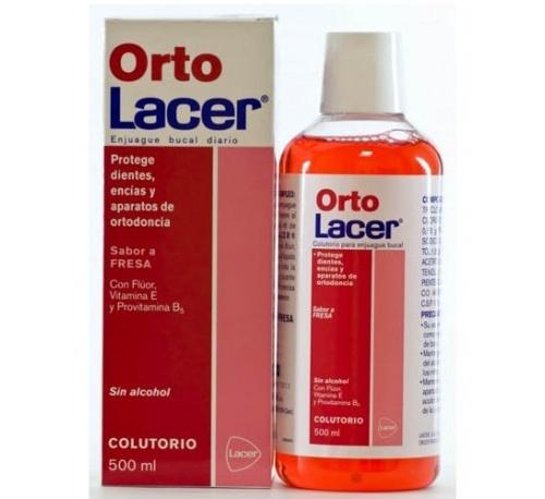 Ortolacer colutorio (fresa 500 ml)